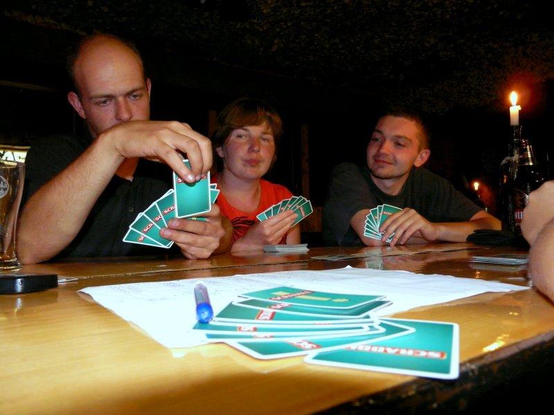 Scrabble z tubylcami :-)