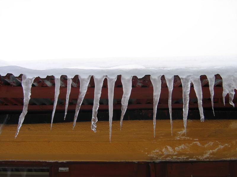 Zima pokazała zęby
