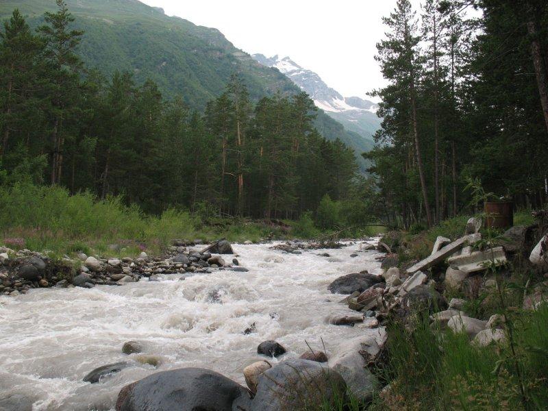Rzeka Baksan