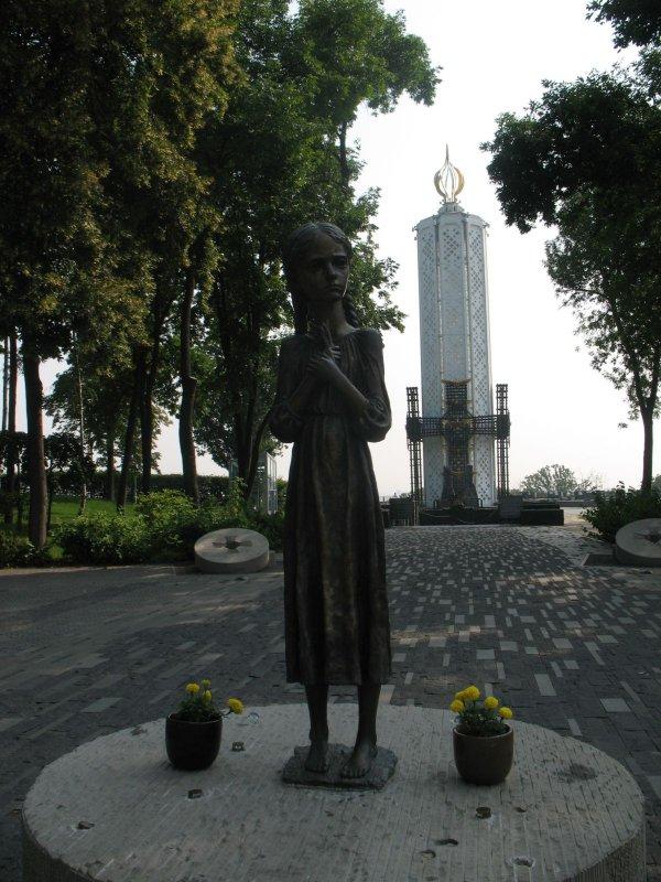 Kijów. Pomnik Ofiar Głodu
