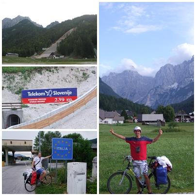 Planica, Kranjska Gora i... już Włochy