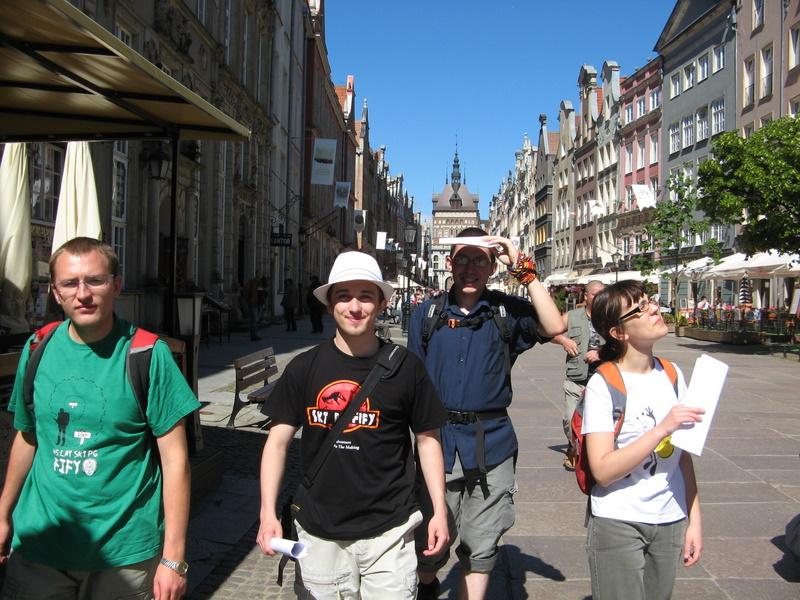 zwiedzanie Gdańska rozpoczęte