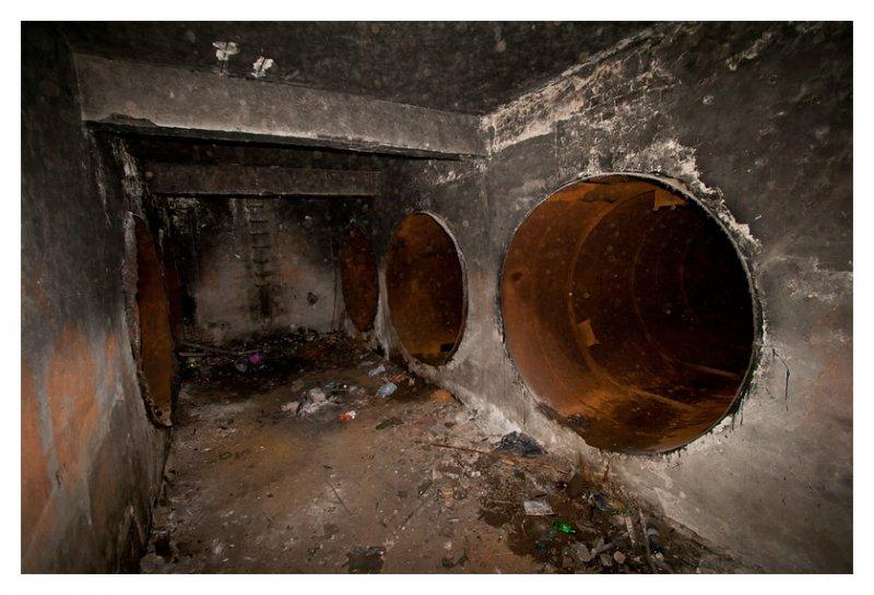 Resztki zbiorników na paliwo lekkie
