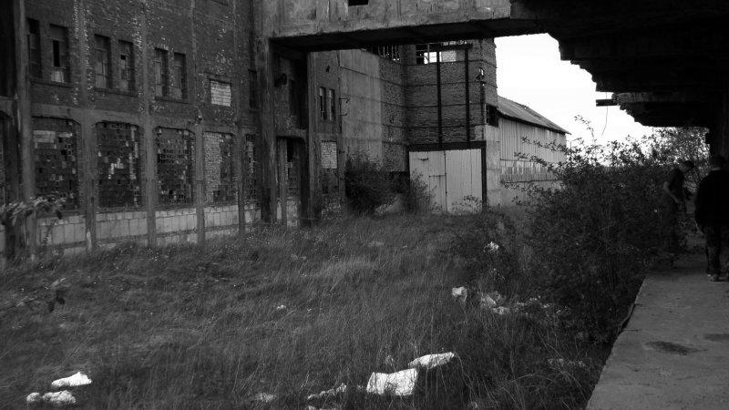 Kolejna hala kopalni - fot. Marta