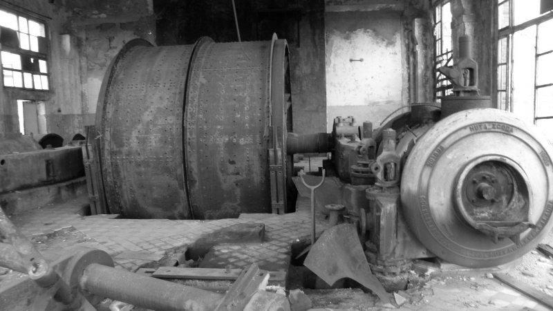 Maszynownia kopalni - fot. Marta