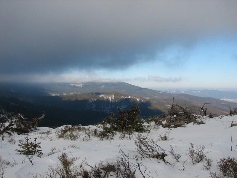 Cud natury - znikają chmury