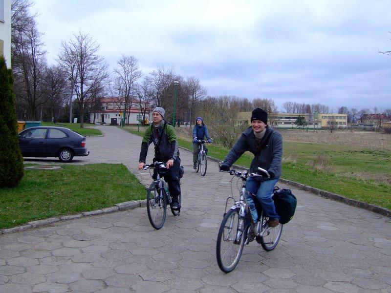 Powrót rowerzystów