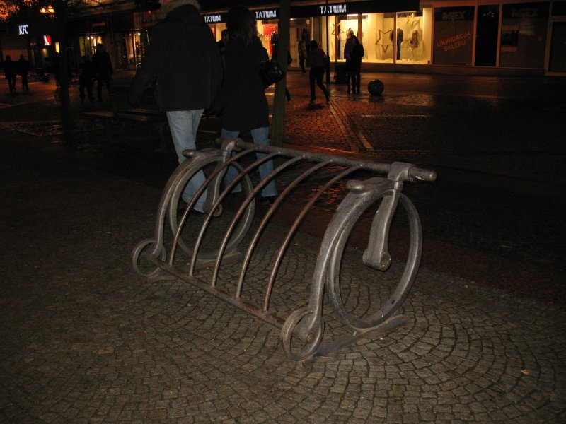 Stojak na rowery 1