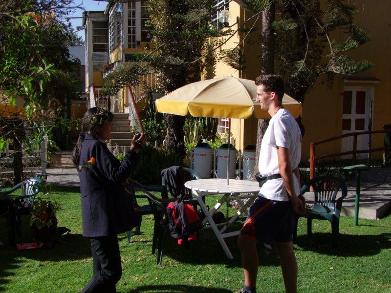 Wywiad w Arequipie