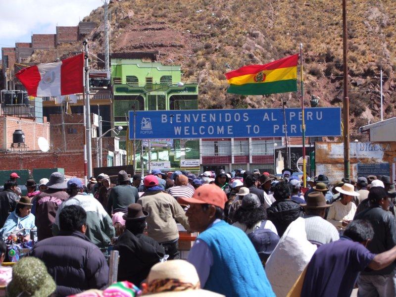Granica Peruwiańsko-Boliwijska