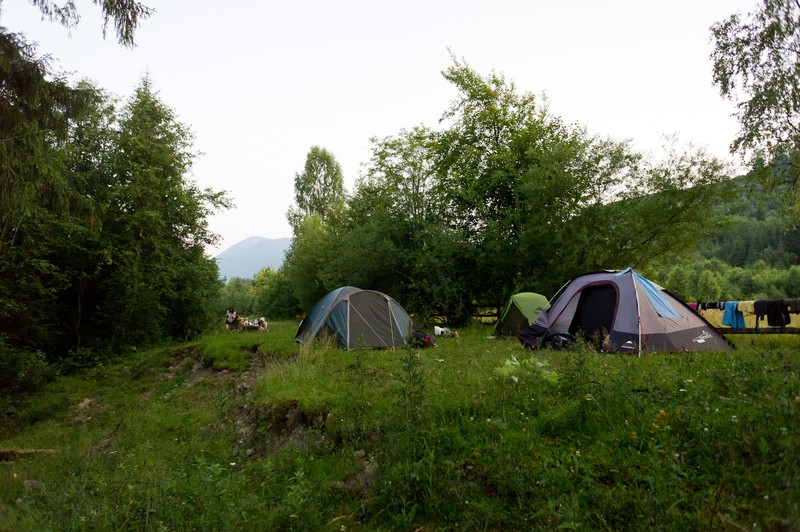 ostatni 9 nocleg pod namiotami