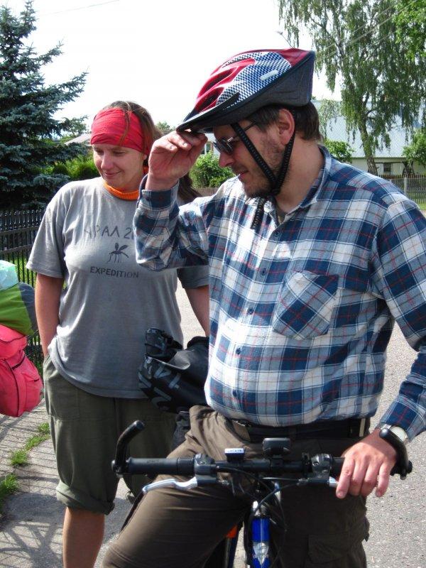 Kierownik drugiej trasy rowerowej