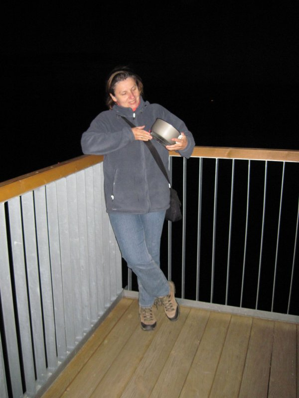 Pierwsze nocne wejście na wieżę z menażką!