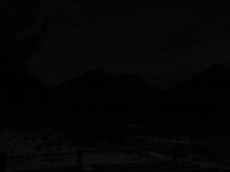 góry o północy