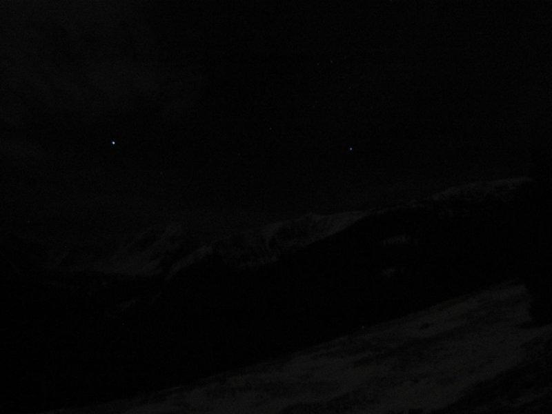 Tatry o północy