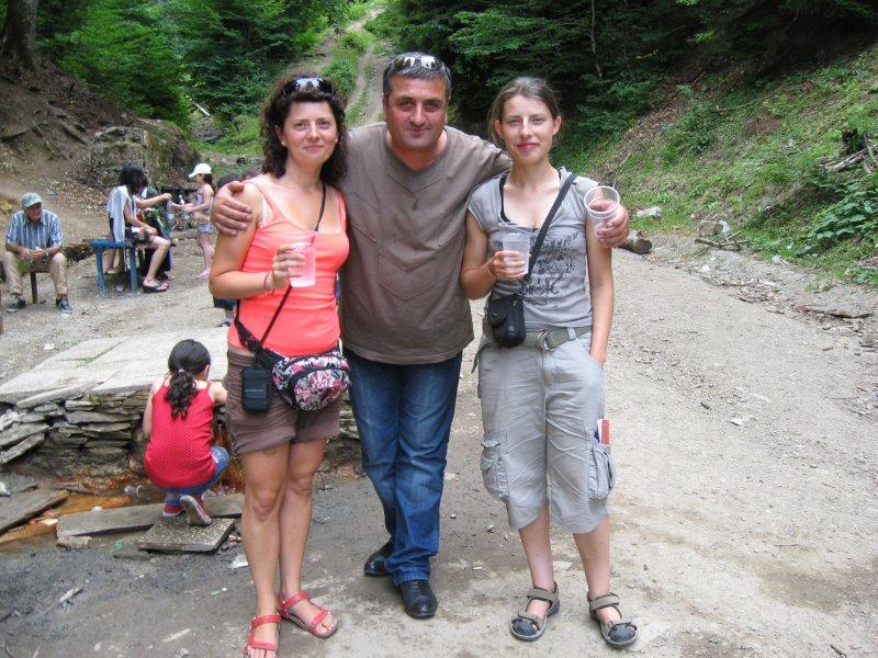 W drodze do Borjomi