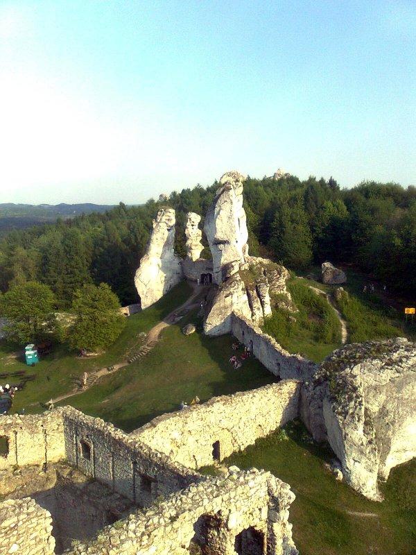 Jakiś zamek.