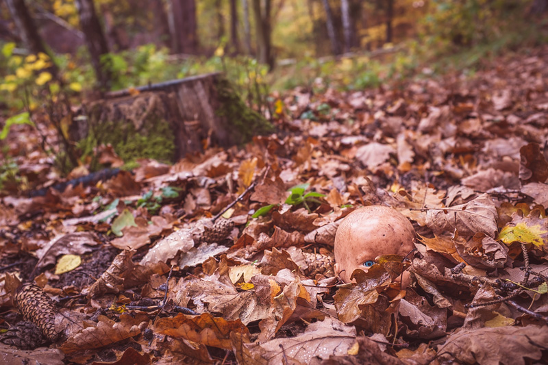 Strach po lesie chodzić