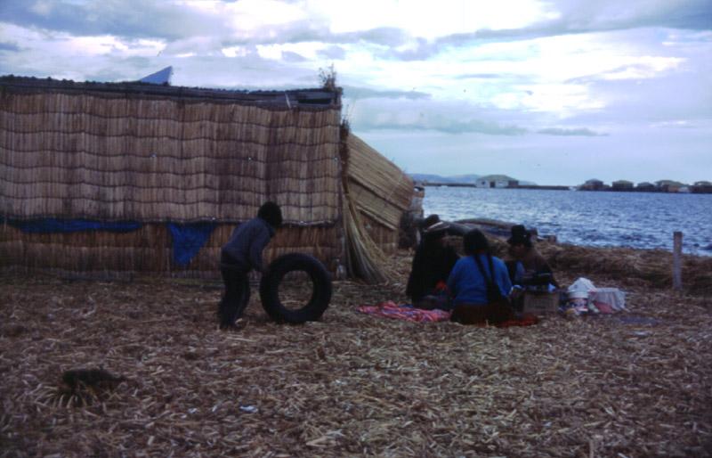 pływające wyspy na Titicaca