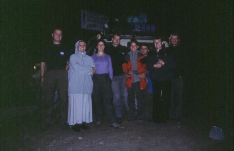 w odwiedzinach na polskiej misji w Boliwii
