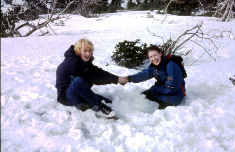 śniegu Ci u nas dostatek