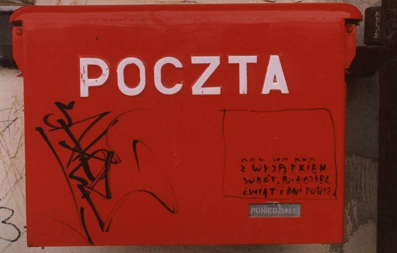 Poczta... przeczytaj napis na skrzynce :-)