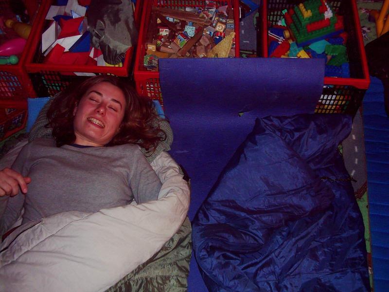 z zabawkami nie rozstajemy się nawet podczas snu