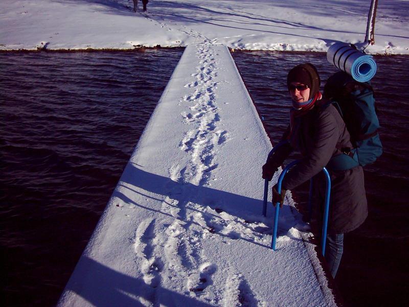 zimowy strój kapielowy