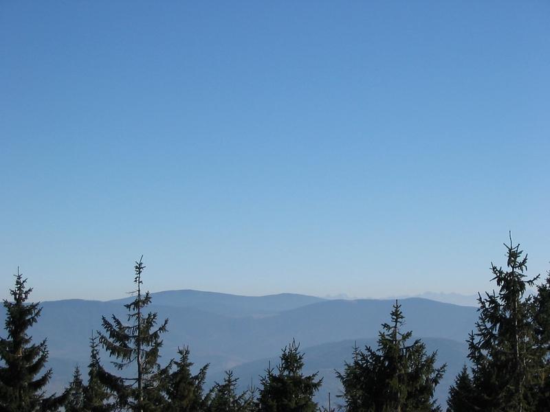 Z Baraniej Góry na Tatry widok :-)