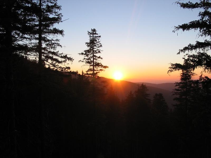 Znowu dziś widzę zachód słońca...