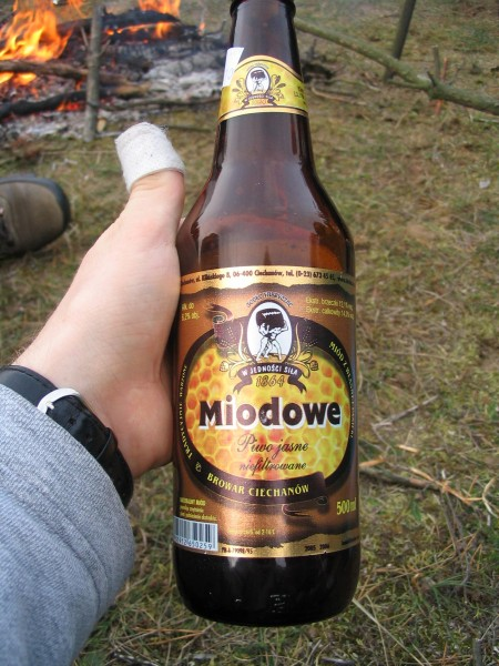 ...hit sezonu - Piwo Miodowe, browar Ciechanów :D