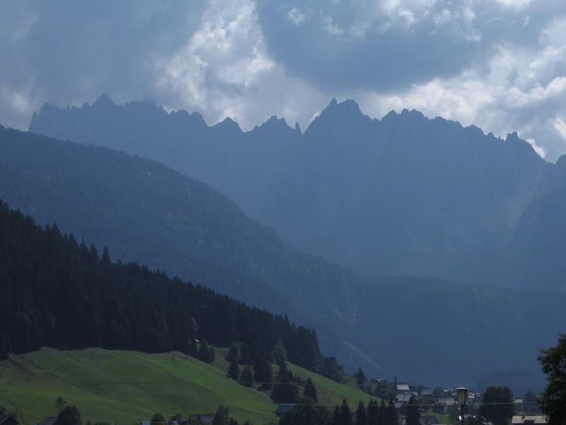 Euforia - gdzie nie spojrzysz góry jak z bajki (Dachstein)