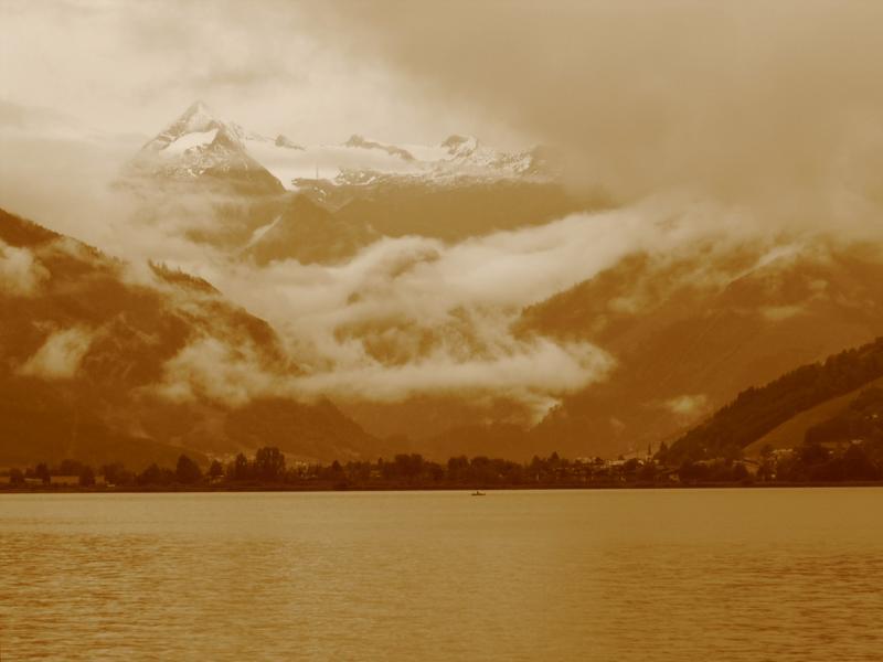 Z głową w chmurach...najwyzsze szczyty Alp Wschodnich