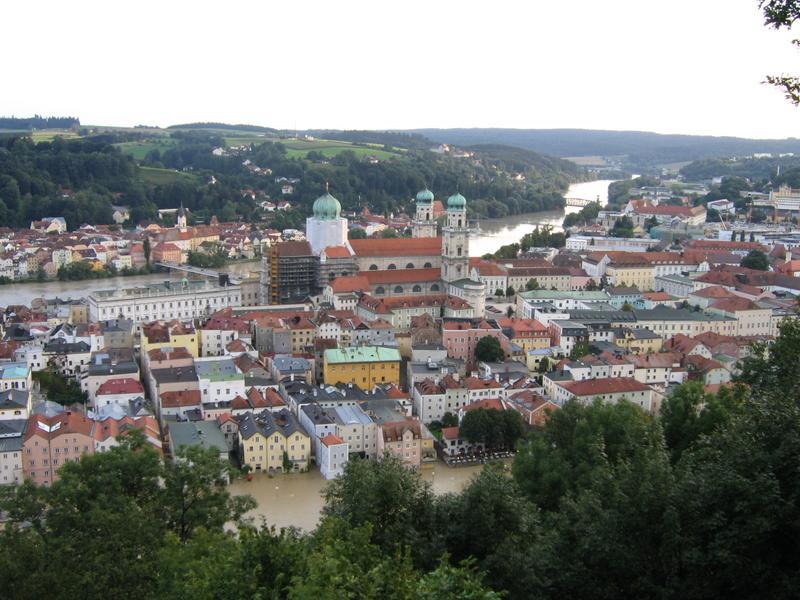 Passau - miasto nieustannych powodzi