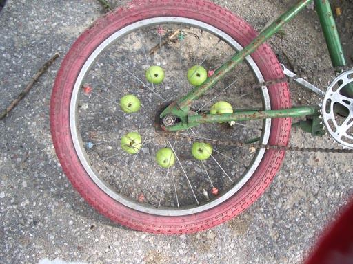 Aerodynamiczne jabłka
