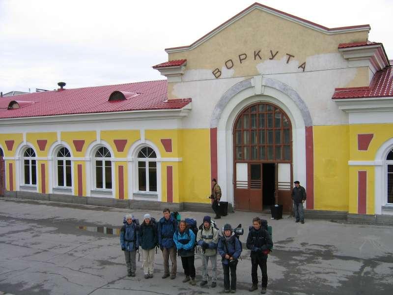 Workuta - dworzec