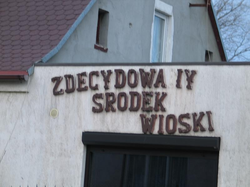 Zdecydowany środek wioski... :-)
