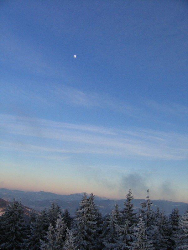 Bo zachód słońca na Baraniej jest pikny ! I jest to wystarczający powód aby spóźnić się ponad 3 godziny !