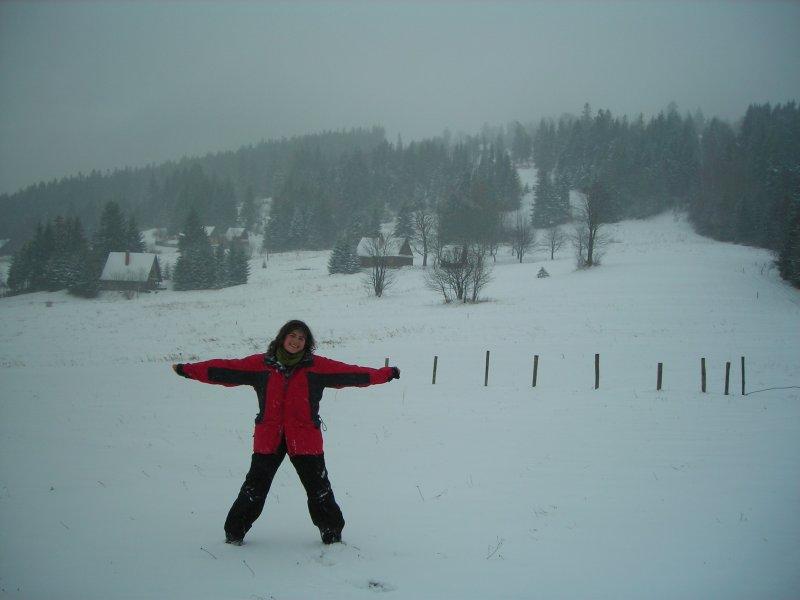 że niby mało śniegu jest to nie mogę powiedzieć :P