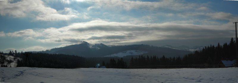 Panorama z Lalik