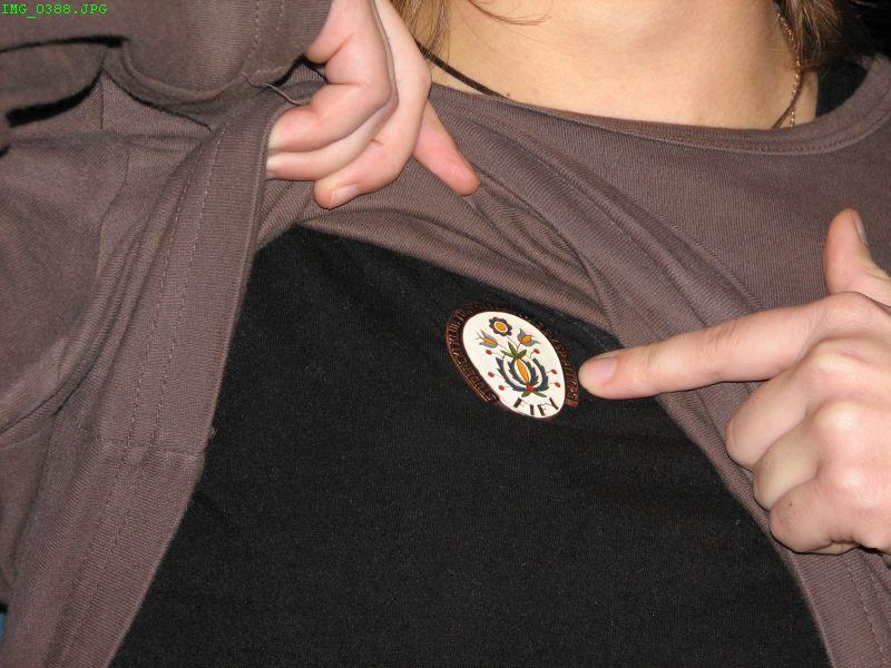 Oto co prezes ma pod koszulką :)