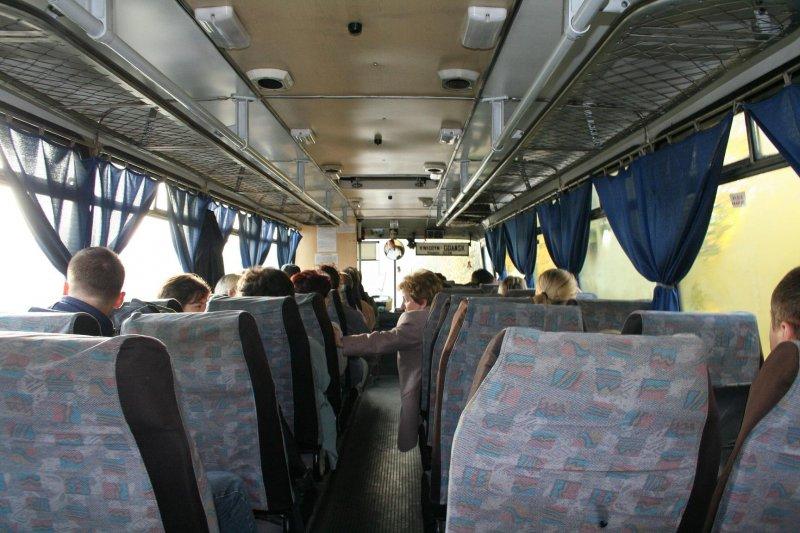 W autobusie bylo nas 24.