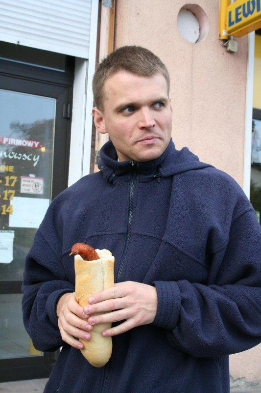 Hot-dog XXI wieku i jego tworca
