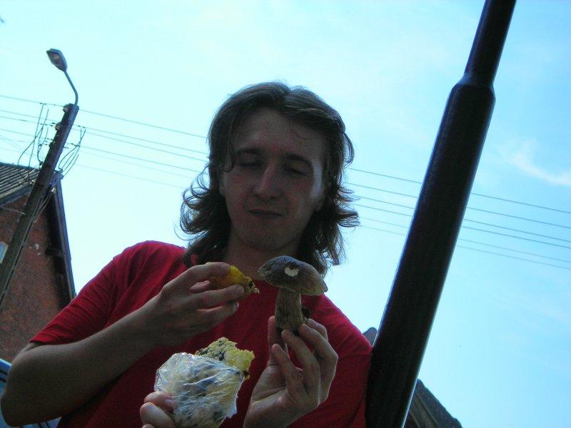 ...i grzybowo-gruszkowy przysmak