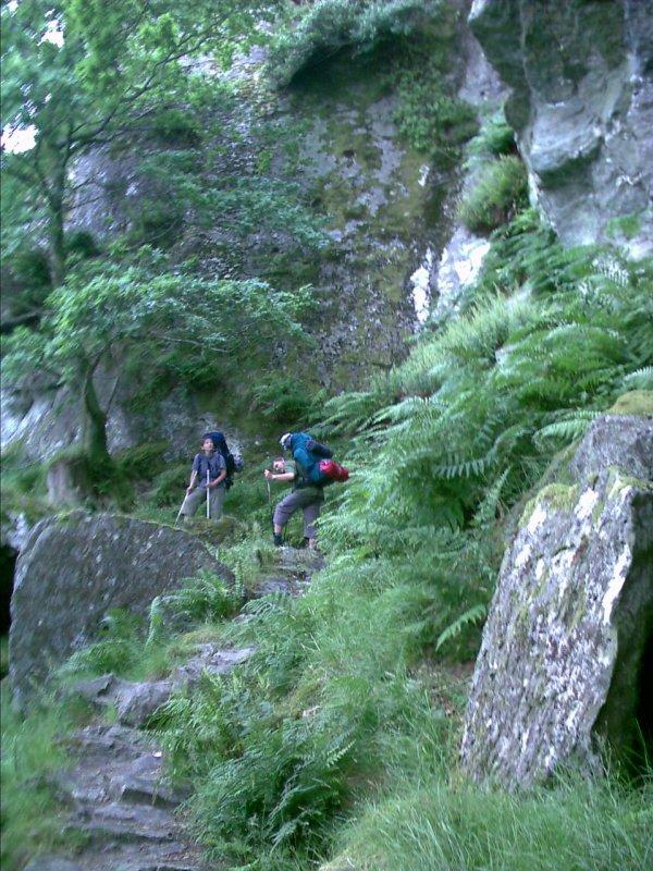 W poszukiwaniu jaskini Rob Roya