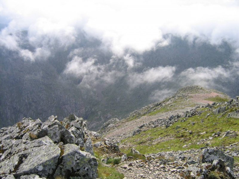 widok z Meall a' Bhuiridh