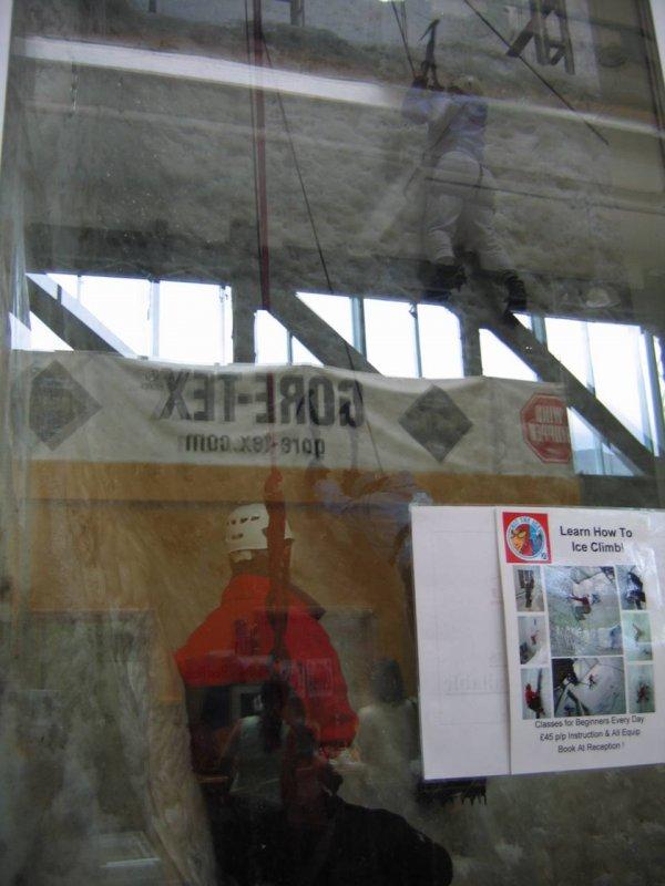 Ice Factor - największa sztuczna lodowa ścianka