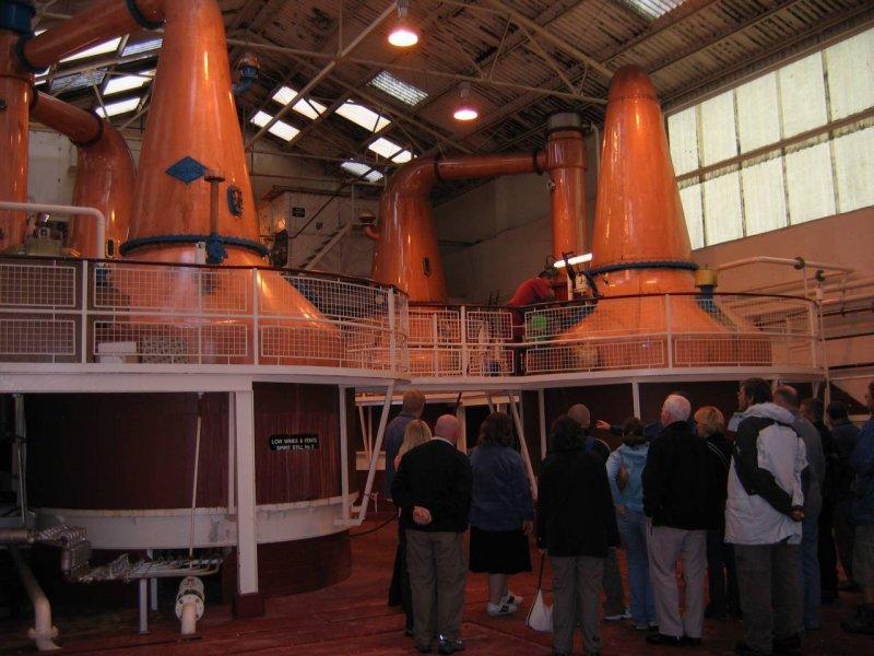 Destylatornia whisky Ben Nevis w Fort William
