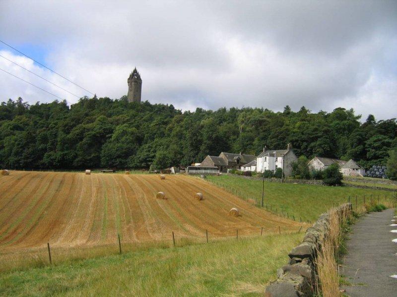 Monument Williama Wallace'a ( ksywa Braveheart ) w Stirling