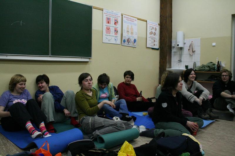 W końcu dotarliśmy do szkoły :-)